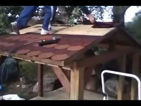 Casita para ni os youtube - Como hacer casitas de madera para ninos ...
