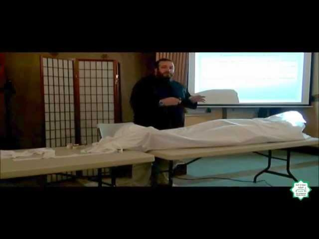 Workshop on Jinazah (Washing the Deceased) - Abdurrahmann Murad
