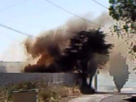 Vídeo del incendio en la conservera Boiromar