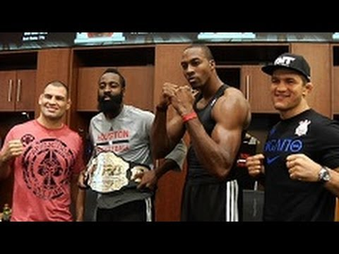 UFC 166: Cain and Junior Meet the Houston Rockets
