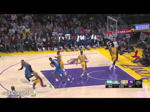 2014.04.04 - Dirk Nowitzki Full Highlights at Lakers - 27 Pts, 9 Reb, Passes Dominique Wilkins