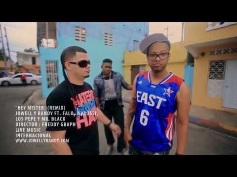 Hey Mister (Official Video) Remix - Jowell y Randy Ft. Falo, Watussi, Mr. Black & Los Pepe