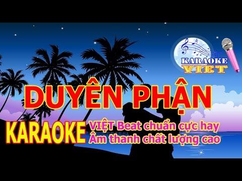 Duyên Phận | Karaoke Nhạc Vàng Baet Chuẩn Âm Thanh Chất Lượng Cao