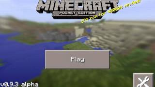 Descargar Minecraft PE 0.9.5 Version 2