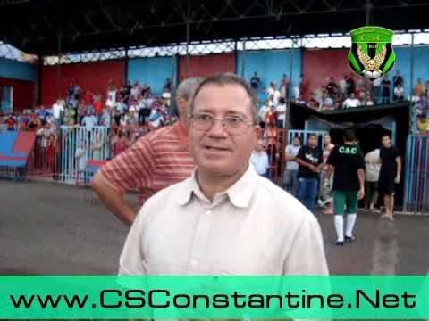 CAB - CSC - Déclarations du coach Rachid Mhimdet