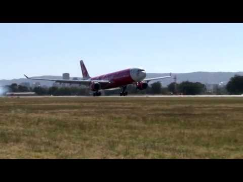 AirAsia X arrives in Adelaide