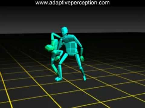 Aikido Motion Capture - Color by Speed