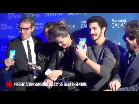 Samsung Electronics presenta el GALAXY S5 en Argentina!