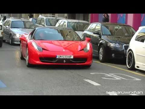 Ferrari 458 Italia Revving and Accelerations