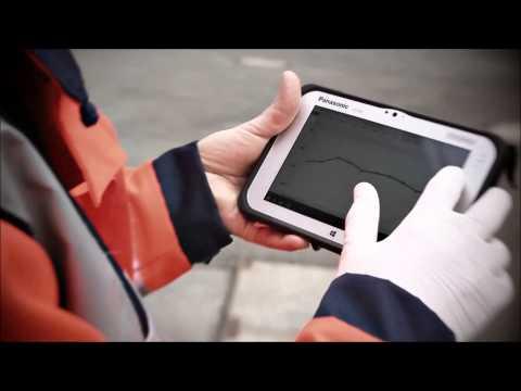 Panasonic FZ M1 Value Windows 8 1 7inch Rugged Tablet PC