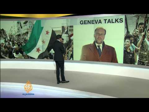 Updates on Geneva peace talks