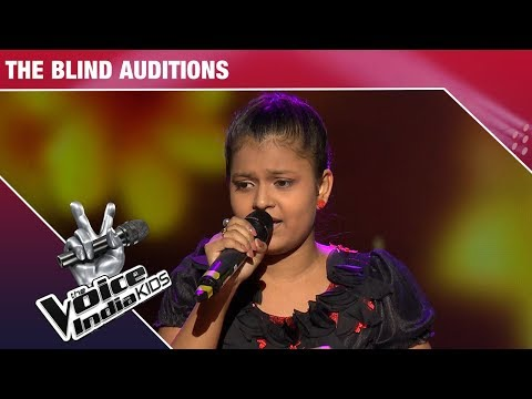 Niharika Performs on Banarasiya - Episode 9 - Dec 9, 2017 - The Voice India Kids Season 2