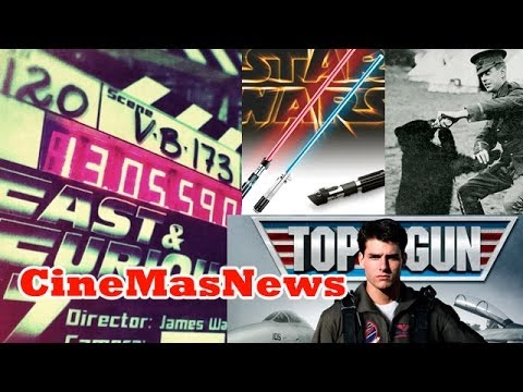Rápido y Furioso 7, origen del sable de StarWars, Tom Cruise Top Gun 2, Winnie Pooh el Origen