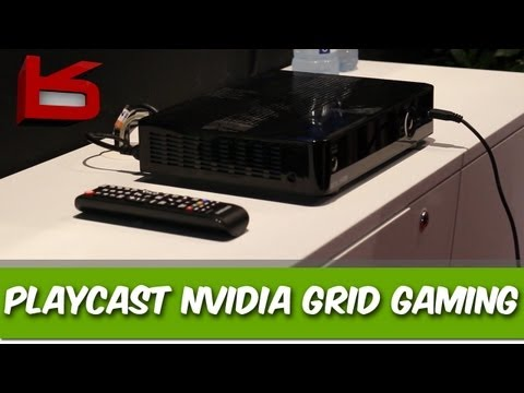 Playcast NVIDIA Grid Cloud Gaming TV