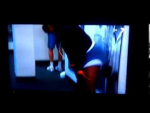 2014 Tennis Tournament Serena Williams Twerking Warm Up #SerenaWilliams