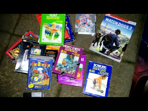 Retro Games!!! Gamestop Dumpster Dive Night #156