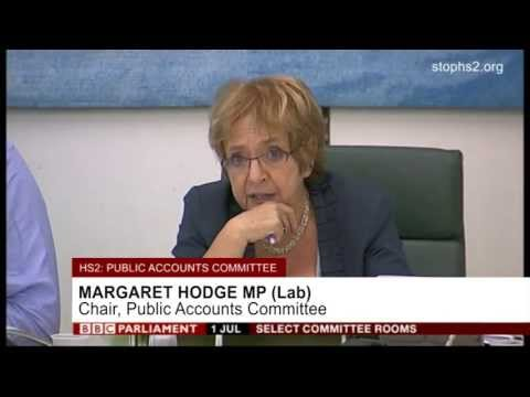 More questions from Margaret Hodge MP about the dodgy figures being used to justify HS2