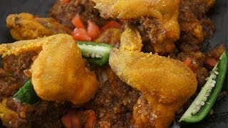 Fried Chicken Wings in Chili Butter Recipe