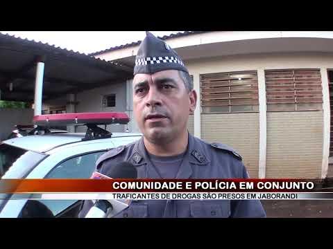 13/11/2018 - Indivíduo morador do Bairro Simione em Ribeirão Preto é preso por tráfico de drogas em Jaborandi