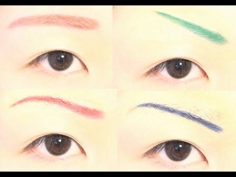 How to : 5 Ways to Change Eyebrow Shape / Color