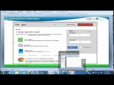 BA Training   Business analysis Training   Ms Visio GUI   Interview questions