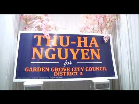 PHÓNG SỰ CỘNG ĐỒNG: Gây quỹ tranh cử của cô Nguyễn Thu Hà vào chức Nghị Viên tp Garden Grove