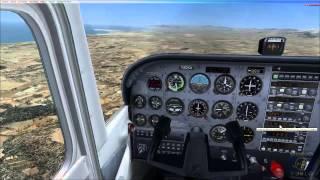 Aprende a volar con VOR en Cessna