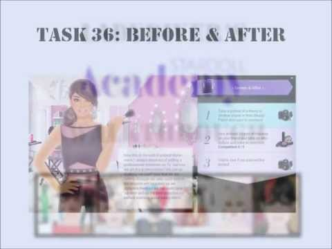 Stardoll Academy Walkthrough Task 36: Before & After, A walkthrough for the thirtysixth task (Stardoll Academy President) of the Stardoll Academy on Stardoll.com Comments and questions areالسعادة welcome in my Guestboo...