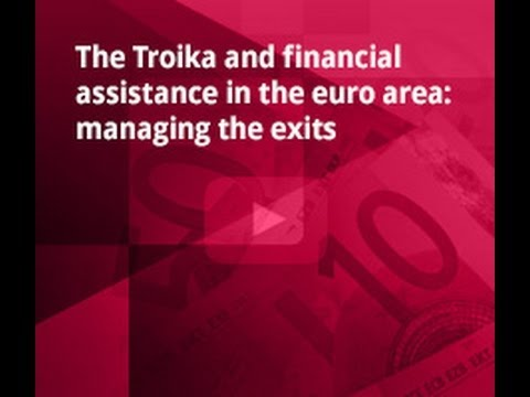 Bruegel - The troika and financial assistance in the euro area, managing the exits