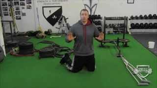 Stabilizer Challenge For Chest and Core Endurance