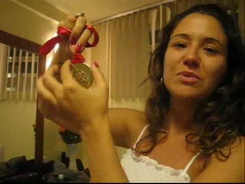 Maria Rita e a medalha do Grammy