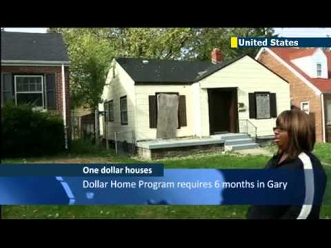 US city selling one dollar houses to residents