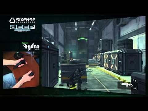 Deep Black и Razer Hydra