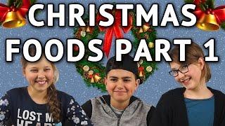 German Kids try international Christmas Foods - Part 1