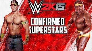 WWE 2K15 CONFIRMED ROSTER