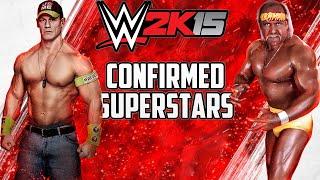 WWE 2K15 CONFIRMED ROSTER