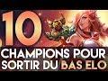 10 CHAMPIONS POUR SORTIR DU BRONZE SILVER GOLD