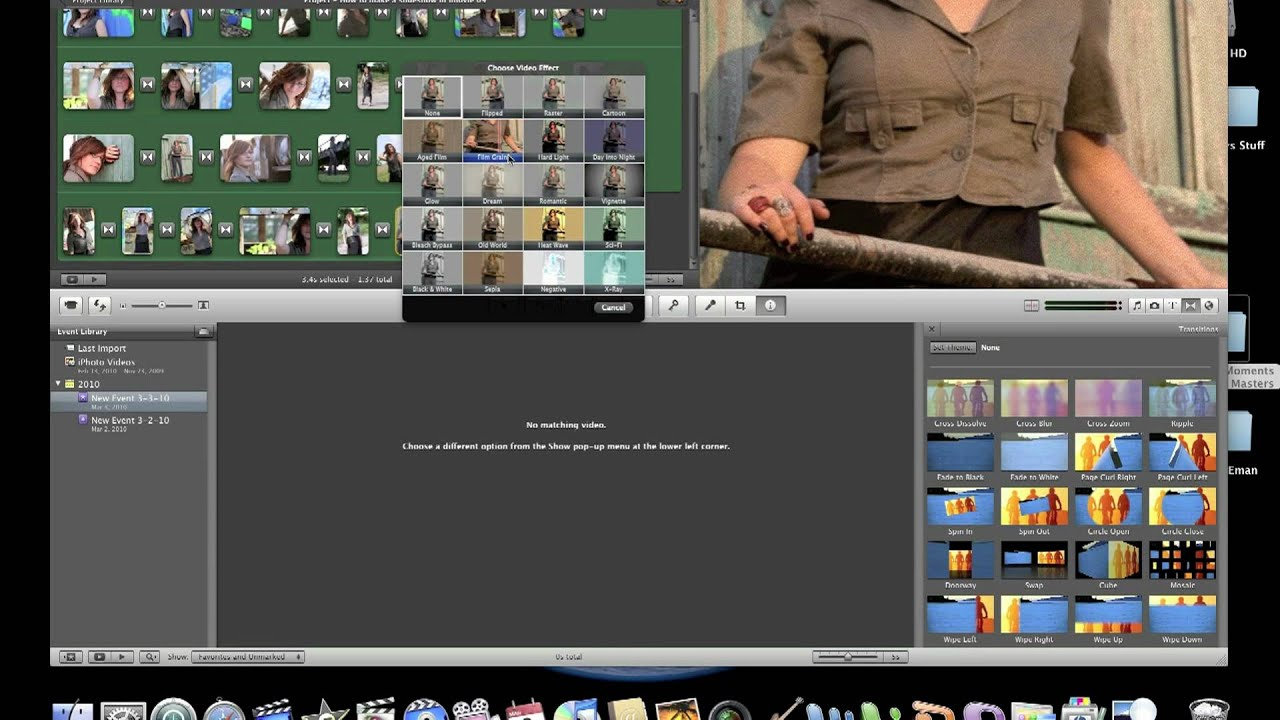 how to add photo in video imovie
