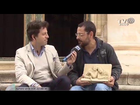 Scicli: i luoghi di Montalbano, il crocifisso ligneo di Daniele Assenza