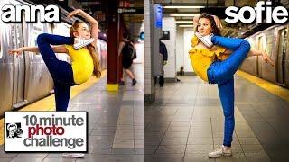 Anna McNulty Copies Sofie Dossi **Record Breaking 10 Min Photo Challenge**