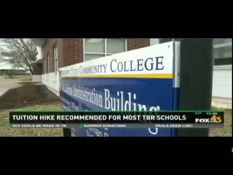 Tuition Freeze - WTNZ - Fox 43 Ten O'Clock News - 6/19/14