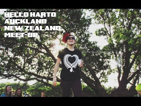 HANNAH HART IN AUCKLAND, NEW ZEALAND!. HELLO, HARTO! MEET-UP