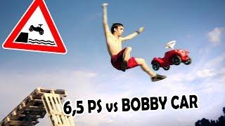BOBBYCAR-TUNING   Mit 6,5 PS über die Rampe!