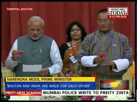 Narendra Modi: Bhutan & Bharat are made for each other