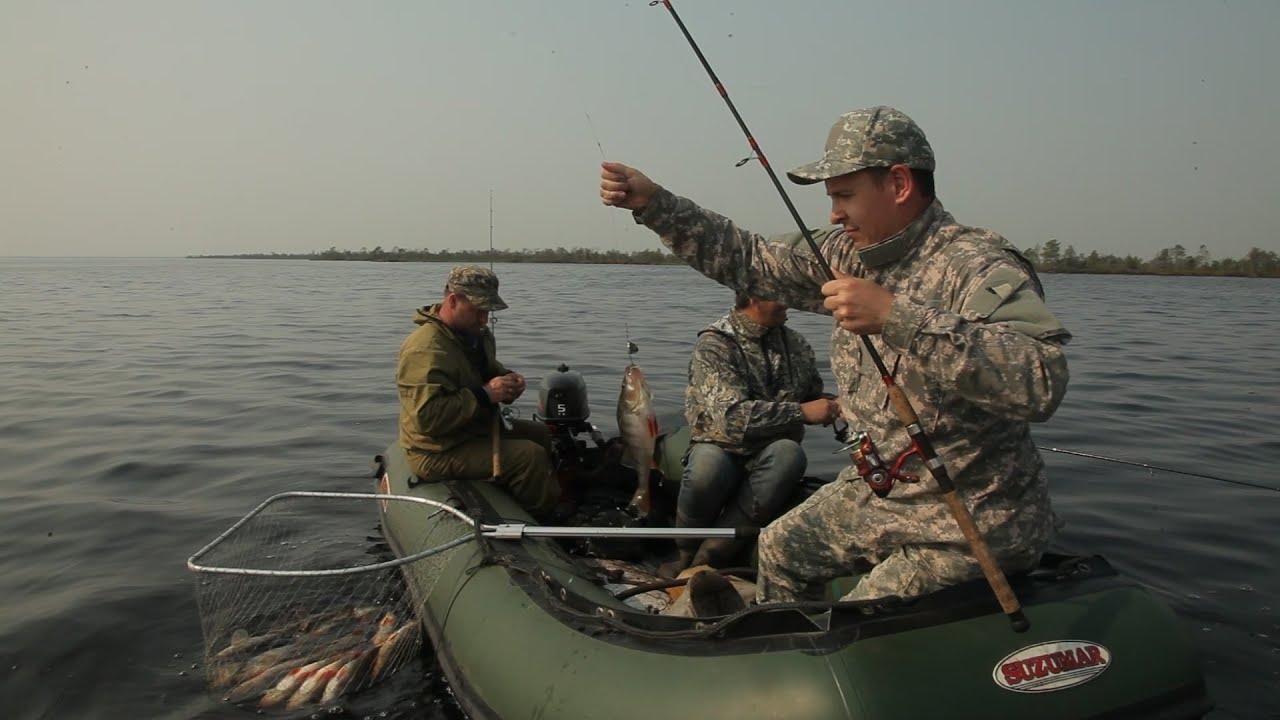 рыбалка на озере нахты