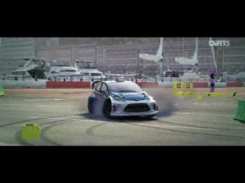 DiRT3 Gymkhana Amazing Combo Gameplay