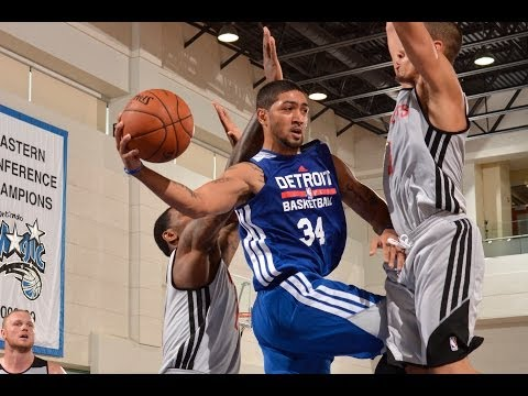 NBA Summer League: Peyton Siva dishes and swishes vs Rockets!