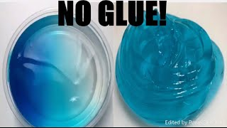 😱HOW TO MAKE SLIME WITHOUT GLUE OR BORAX! 😱EASY