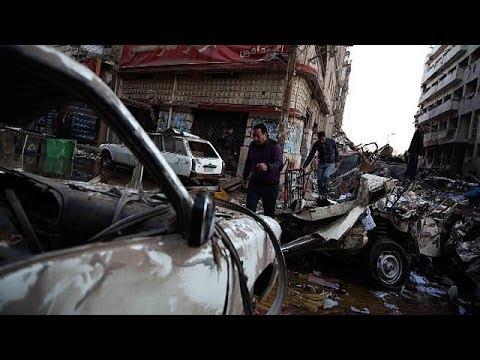 هجوم بسيارة ملغومة على مديرية أمن بمصر
