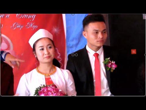 Đám cưới Mường, cô dâu xinh như diễn viên Hàn Quốc - Wedding, beautiful bride